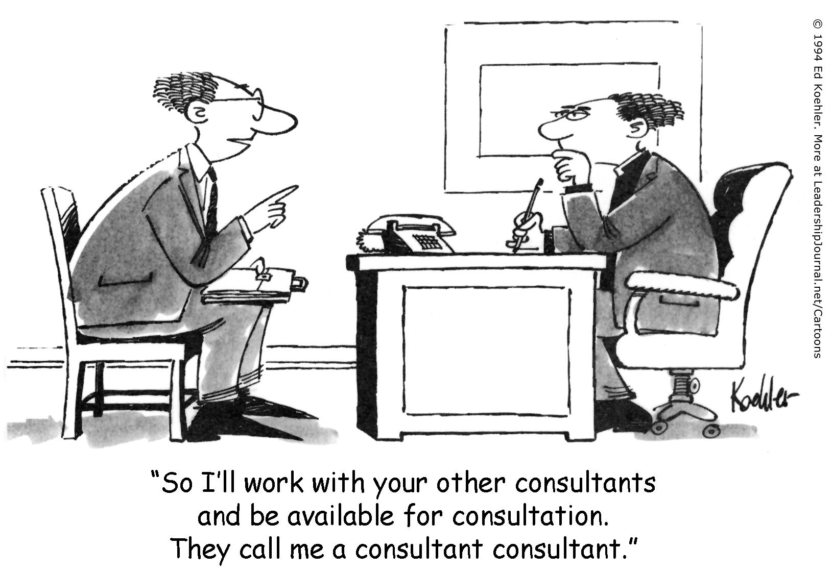 A Consultant Consultant