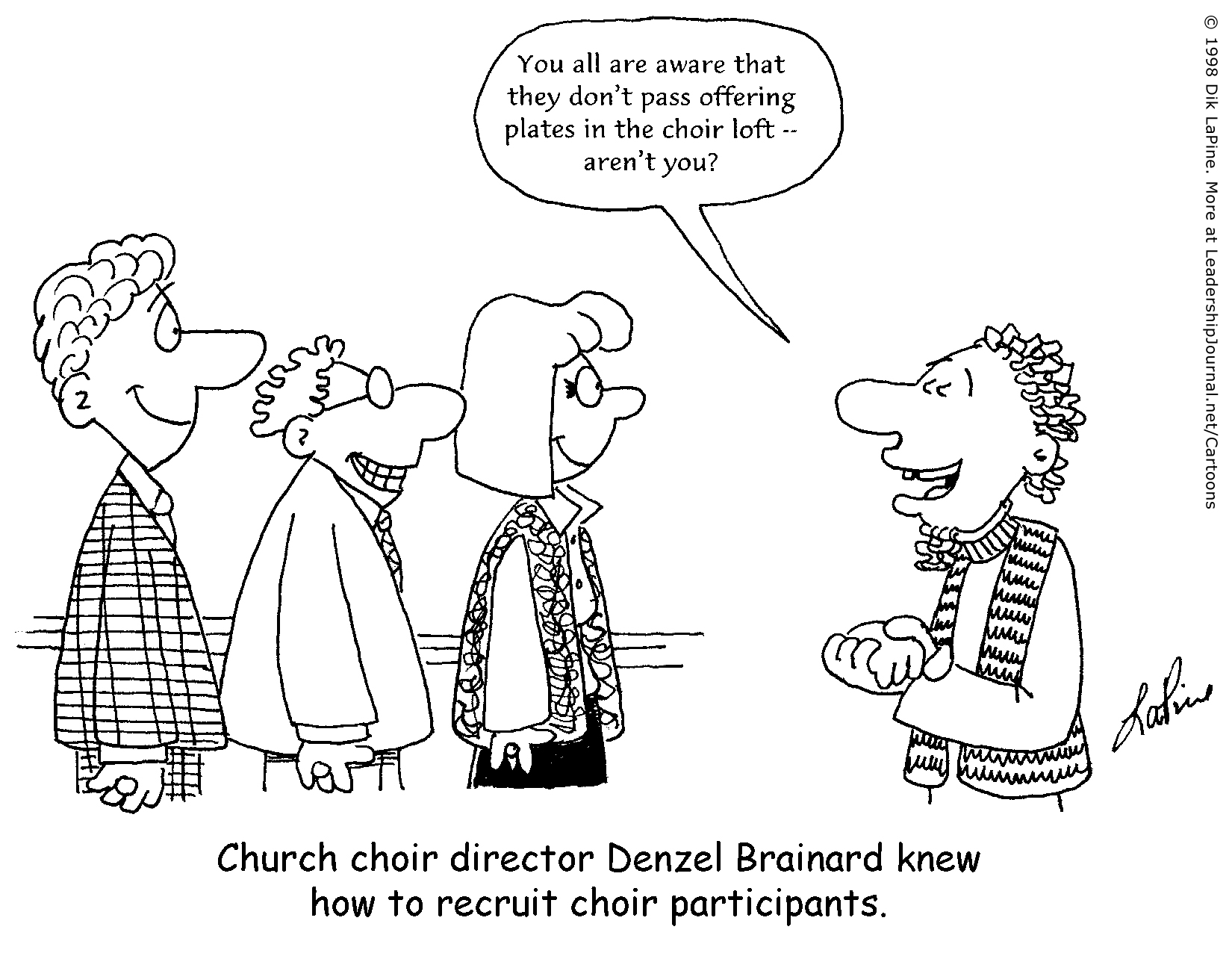 christian cartoons for newsletters